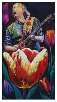 Luis Obando - Santana, concierto en tulipanes