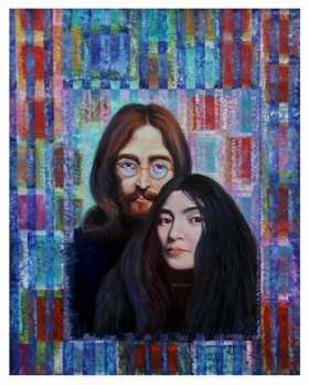 Freddy Simoza - John Lennon y Yoko
